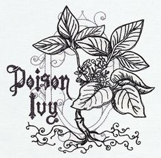 Pretty Poison (Design Pack) - Thread List   Urban Threads: Unique and Awesome Embroidery Designs