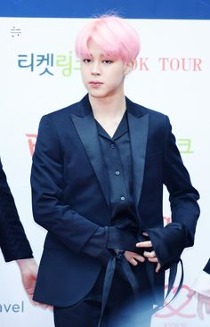 Jimin BTS 6th Gaon Chart Music Awards Red Carpet