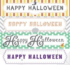 Designs By Miss Mandee: Halloween Treat Bag Toppers