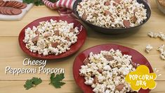 Recipe Videos, Food Videos, Popcorn Recipes, Big Game, Pepperoni, Pizza, Snacks, Inspired, Appetizers