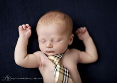 simple newborn boy shot