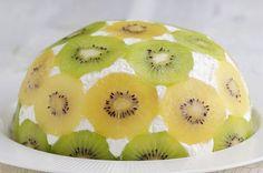 Upside Down Kiwi Cake