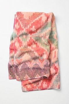 Is it right to covet a towel? Anthropologie just gets it right.