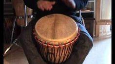 Djembe rhythms and grooves for kids, Kuku, Patatje, Kono, Yankadi, Rumba, via YouTube - Another good video for beginners!
