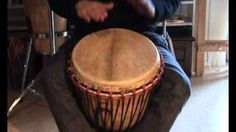 Djembe rhythms and grooves for kids, Kuku, Patatje, Kono, Yankadi, Rumba, via YouTube - Another good video for beginners!