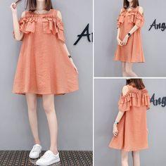 쉬폰 strapless 드레스 여성의 새로운 도착 격자 무늬 긴 섹션 단어 flounced 2017 새로운 여름 느슨한 인형