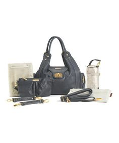 Take a look at this Dusk Navy Annette Diaper Bag by timi & leslie on #zulily today! $99.99, regular 150.00