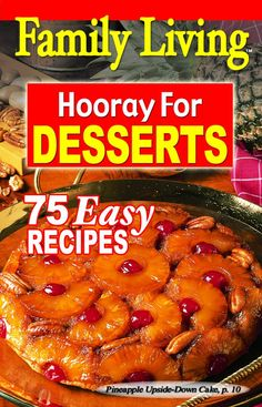 Leisure Arts - Family Living: Hooray for Desserts, $0.50 (http://www.leisurearts.com/products/family-living-hooray-for-desserts.html)
