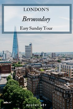 Fancy a boozey brunch in London this Sunday? Take a lazy Sunday walk through Bermondsey, London. This self-guided walking tour includes London's finest weekend markets, artisanal shops and food stalls followed by contemporary art galleries, White Cube of course, and a top notch slow Sunday boozey brunch to finish. #London #walkingtour #londonguide #travel #europe