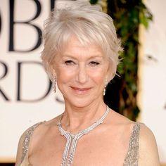 How to Get Helen Mirren's Golden Globes Hairstyle | POPSUGAR Beauty