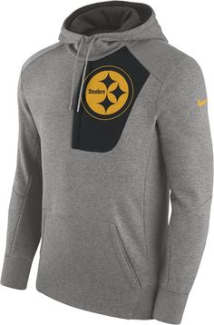 Nike Fly Fleece (NFL Steelers) Men s Hoodie Steelers Hoodie 8f3a63b4f