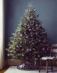 Real Christmas Tree Holiday Decorations Mon Beau Sapin