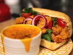 Shrimp Po' Boy with Horseradish Remoulade - Sandwich King Food TV