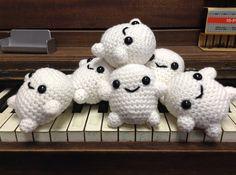 Adipose Doctor Who Amigurumi Plush Crocheted Doll | CraftedCuteness, on Etsy.