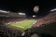 I will take my husband to the greatest football field ever....Virginia Tech!