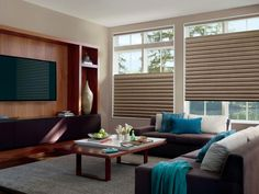 Call us and discover Shop at Home Convenience, low competitive pricing. Decorate with high quality Hunter Douglas Window Coverings Brought to you! The Decorating Dog Hunter Douglas Window Coverings House Windows, Blinds For Windows, Window Blinds, Bay Windows, Room Window, Window Seats, High Windows, Window Shutters, Window Frames