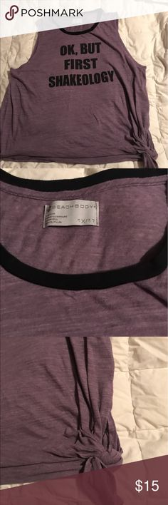 Beachbody workout wear New tank top from Beachbody's plus size workout line. Loose fitting. Tops Tank Tops