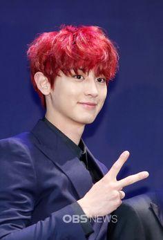 Chanyeol - 160608 Third Regular Album 'EX'ACT' comeback press conference