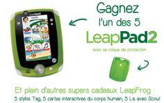 Gagnez une tablette pour enfant LeapPad2