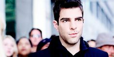 Discover & share this Zachary Quinto GIF with everyone you know. GIPHY is how you search, share, discover, and create GIFs. Hayden Christensen Movies, Sylar Heroes, Cillian Murphy Movies, Hero Tv Show, Leonardo Dicaprio Movies, Zachary Levi, Spock Zachary Quinto, Nos4a2, Star Trek Cast