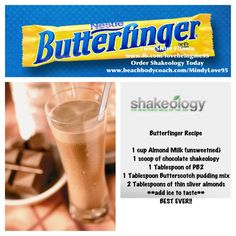 Shakeology is a nutritious meal replacement shake! You can create all kinds of delicious recipes that suit your needs:)  Order today! www.beachbodycoach.com/sarahremacle