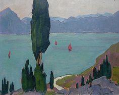 Lake Garda, Italy, 1921 - Maggie Laubser (1886–1973)