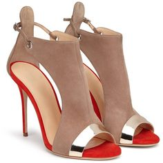 e3bd4afe270b75 Prova Perfetto Sexy Fish Head High Heel Ladies Sandals Summer Hollow Out  Ankle Boots Sandals Large Szie High Heels Party Shoes
