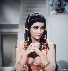 """En 1963, l'actrice a très certainement incarné la plus emblématique """"Cléopâtre"""" du cinéma."""