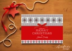 Christmas Card  Instant DOWNLOAD  EDITABLE by AndreeDesignStudio Advent Calendar, Christmas Cards, Holiday Decor, Unique Jewelry, Handmade Gifts, How To Make, Etsy, Design, Christmas E Cards