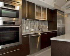 Kitchen by A. Christopher Turan http://www.houzz.com/photos/1120314/Open-Space-Concept-Kitchen-modern-kitchen-miami