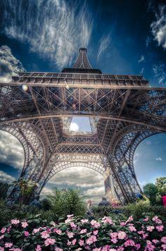 #Eiffel Tower#Paris#France|Eiffel Tower by Alex Hill, via 500px