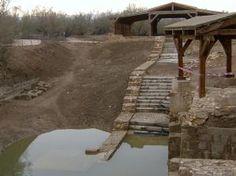 Local onde Jesus teria sido batizado...