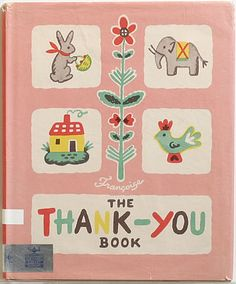 【THE THANK-YOU BOOK】