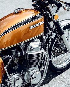 Cb 450 Cafe Racer, Cafe Racer Honda, Cafe Racers, Honda 750, Honda Scrambler, Motos Honda, Vintage Honda Motorcycles, Honda Bikes, Vintage Cafe
