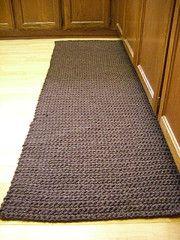 single crochet rug | by chanachang