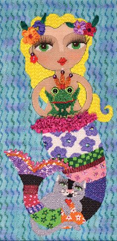 Zoom-bellishment is in the books Needlepoint Stitches, My One And Only, Grandmothers, Embellishments, Books, Painting, Art, Livros, Craft Art