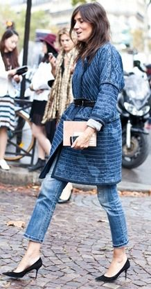 french style | *more denim inspiration at bellamumma.com