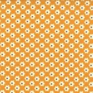 Boho bloem oranje