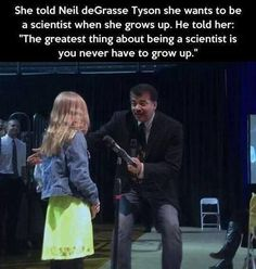 The greatest thing about being a scientist