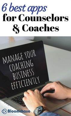 6 best apps for counselors and coaches for productivity and to manage your business efficiently | coaching | small business | business tips | business management | productivity tips | business hacks | grow your business