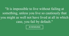 JK Rowling graduation quote