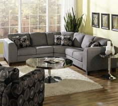 Improve and enhance your home's décor by installing a black leather couch - Decorating ideas Sectional Sleeper Sofa, Couch And Loveseat, Loveseat Slipcovers, Couches, Leather Couch Decorating, Unique Sofas, Sofa Inspiration, Best Sofa, Large Furniture