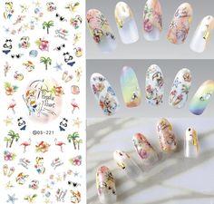 Купить товарDs221 DIY дизайн ногтей переброска воды ногти наклейки рай курорт отпуск ногти обертывания наклейка водяной знак ногти отличительные знаки в категории Наклейки и переводные картинкина AliExpress.