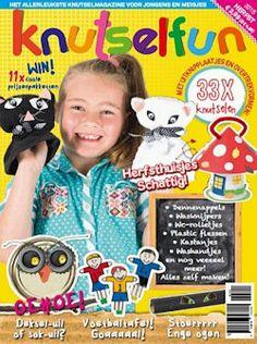 Proefabonnement: 2x Knutselfun € 7,-: Knutselfun is het nieuwe tijdschrift voor creatievelingen van groep 3 t/m groep 8 én hun ouders. Geef oude spullen een tweede leven en ga aan de slag met de leukste knutselidee&eum;n!