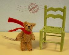 FAB Artist Teddy ROOSEVELT BEAR CO miniature mohair 2\