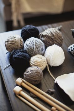learn to hand knit