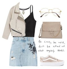 """""""Do I Look Like I Care?"""" by lilyyy24 ❤ liked on Polyvore featuring rag & bone, Vans and Chloé"""