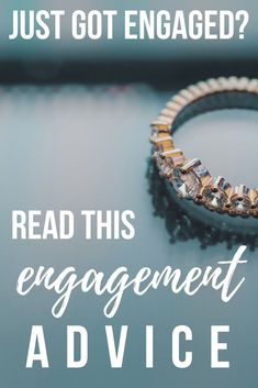 So, you just got engaged? Here's my engagement advice: take one step at a time, realize that you can't do it all, be gracious, it's not going to be perfect! #engagement #engaged #wedding #weddingplanning