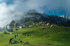 Trek to Triund , Dharamshala, India