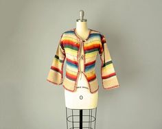 70s Jacket // 1970s Brigitte Freed Mexican by OffBroadwayVintage